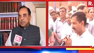 Subramanian Swamy On 20 AAP MLA's Facing Disqualification