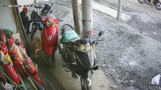 Phút giây cảnh giác 09/11/2018 . Trộm xe máy