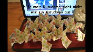 Crocus Kusudama Assembly Problem
