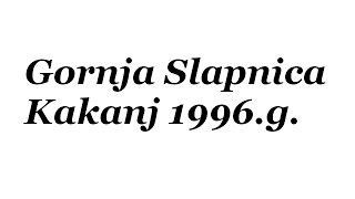 Slapnica Kakanj 1996.g.