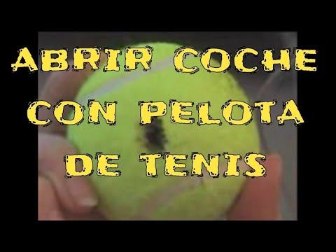 Abrir Coche Con Pelota De Tenis