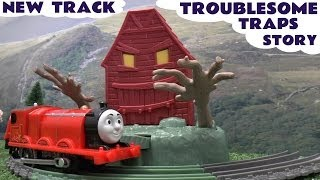 Thomas The Tank Tale Of The Brave Trackmaster James Troublesome Traps New Thomas The Tank Engine