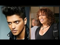 Actress Kym Whitley at Bruno Mars concert in Vegas -