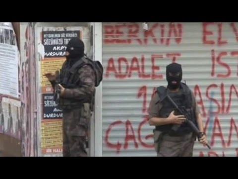 Turkey makes aggressive push against ISIS