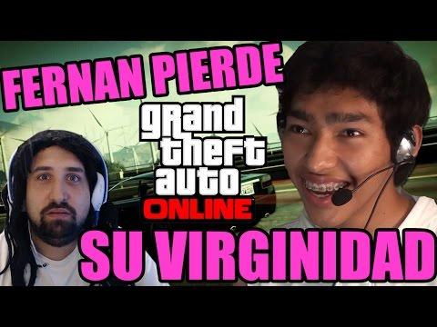 FERNAN PIERDE SU VIRGINIDAD! - GTAV Online con Fernanfloo