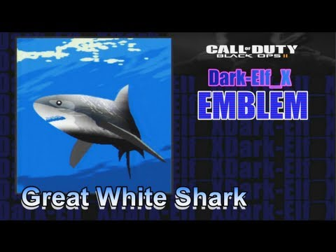 Shark Emblems Emblem Great White Shark