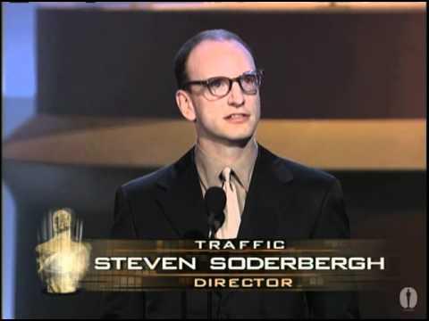 Steven Soderbergh winning the Oscar® for Directing