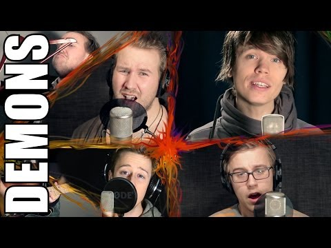 Demons - Imagine Dragons (official Music Video Cover) - Roomie & Friends video