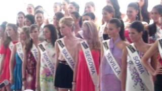 Candidatas a Miss España 2009 se desmayaron en Cancún