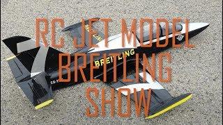 Rc Jet Model Plane Breitling **** Jet Model Uçak Breitling