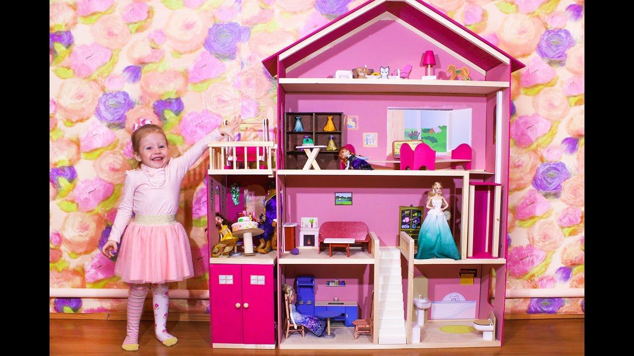 Барби куклы и их домики своими руками 75