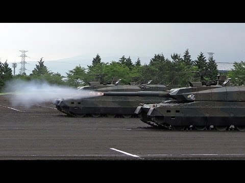 [模擬戦訓練展示] 富士学校・富士駐屯地開設60周年記念行事 陸上自衛隊 JGSDF