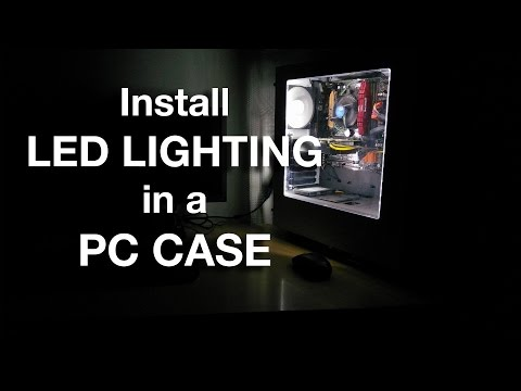 How To Install LED Lighting in a PC Case