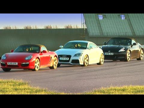 Porsche Boxster S VS Audi TT RS VS Nissan 370Z
