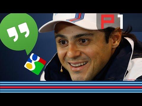 Felipe Massa WILLIAMS MARTINI RACING Hangout