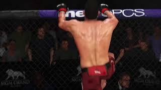 Michael Bisping Leg TKO EA Sports UFC 3