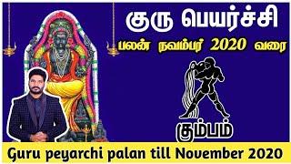 Guru peyarchi palan 2019 kumbam | குரு பெயர்ச்சி கும்பம் ராசி பலன் 2019