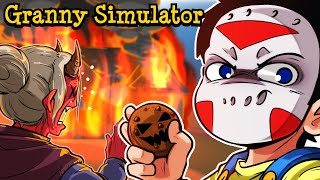 "Granny Simulator | ""NEW HALLOWEEN MAP AND SECRETS!"" With Animation intro!"