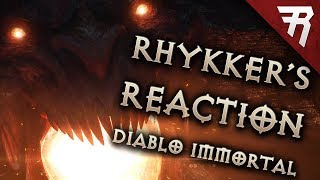 Rhykker Reaction: The Diablo Immortal Fiasco at Blizzcon 2018