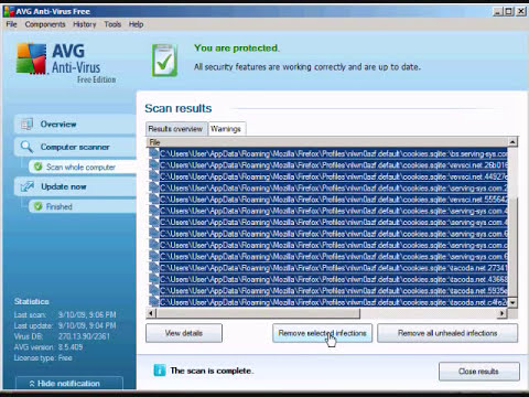 How to use AVG Anti Virus Free Edition