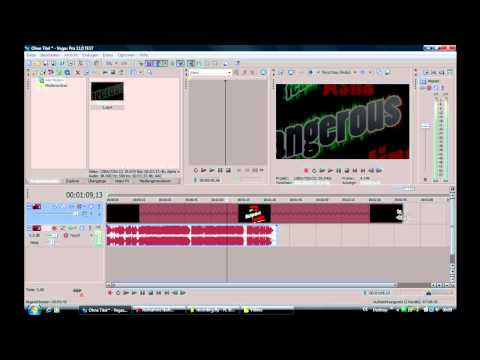 Sony Vegas Pro 11 - Slow Motion / How to make Video faster - Tutorial