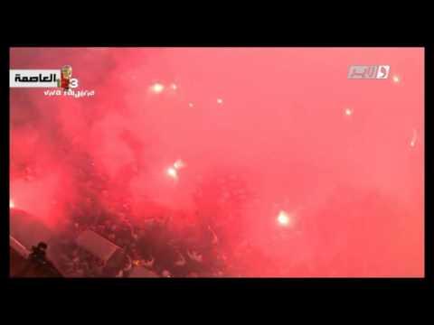 Alger Grande poste: Explosion de joie après le but de Slimani vs Russie