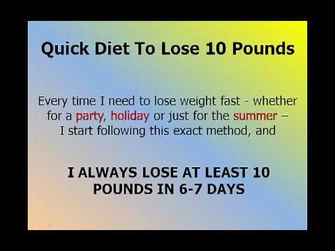 Diets For Quick Weight Loss: Shockingly Effective 7Day Weight Loss Diet. Diets For Quick Weight Loss