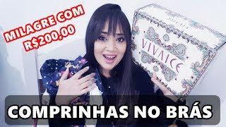 download lagu Comprinhas No BrÁs: Make, Sapato, Roupas Com R$ 200,00 gratis