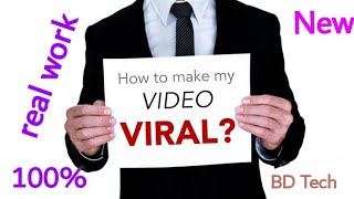 Youtube video viral tips,BD Tech