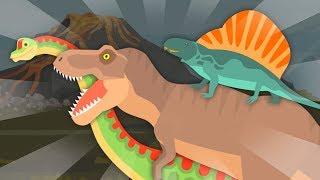 The baby elephant accidentally found dinosaur fossils Tyrannosaurus Dimetrodon Brachiosaurus