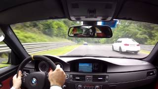 Bmw M3 E92 vs BMW M5 F10 @ Nurburgring