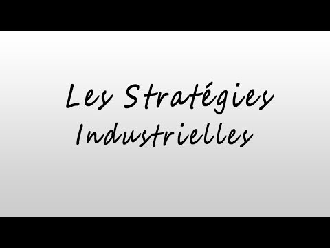 Les Stratégies industrielles - Oligopole - Duopole de Cournot - Duopole de Stackelberg - ...