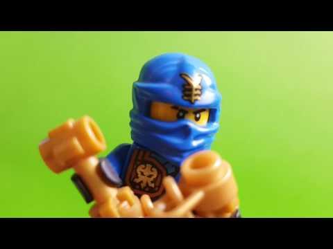JAY z LEGO NINJAGO wyjawia śmierdzącą tajemnicę LLOYD czyli Bajki LEGO Ninjago