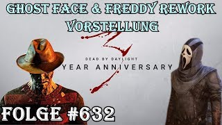 🔴 Ghost Face & Freddy Rework & mehr? - Dead by Daylight - #632 [German]