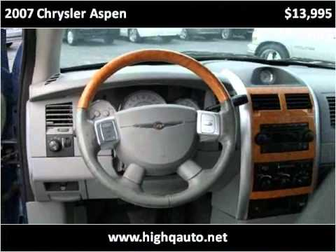 2007 Chrysler Aspen Used Cars Fort Lauderdale FL