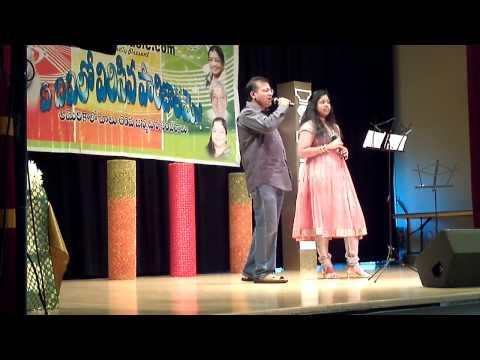 Prathyusha's Hindi Song SP Balu's BirthDay Celebrations in the Bay Area