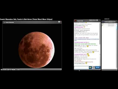 Tetrad Blood Moon Eclipse PT9 Cosmic Obsession Observatory