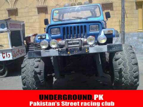 Pictures That Best Describe Pakistanis Love For Modified Cars