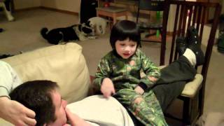 Karson Game Addiction Behavior, Kaitlynn loose tooth &Playing with Puppy WGSD