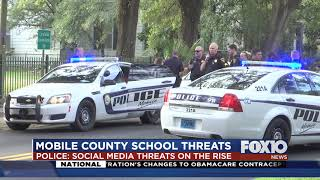 School scares in Mobile County