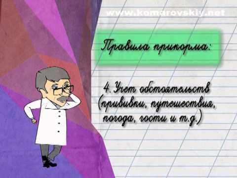 Правила введения прикорма - Доктор Комаровский