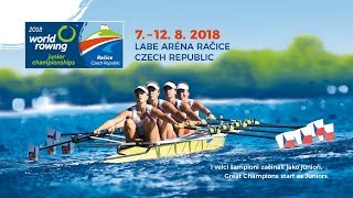 2018 World Rowing Junior Championships - Sunday 12 August