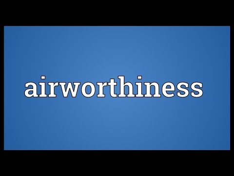 Header of Airworthiness