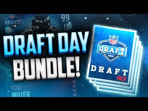 Draft Day Bundle! Madden Mobile NFL Draft Promo!