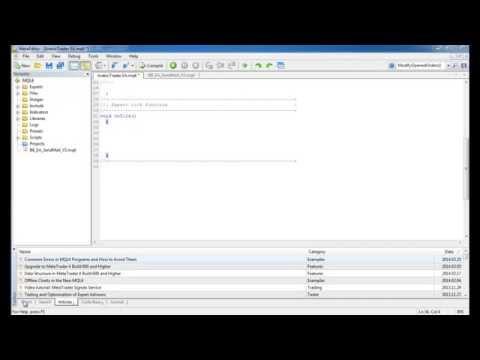 الدرس الرابع تعلم البرمجة بلغة MQL4 - الجمل الشرطيه if  و عمليات المقارنة