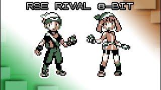 Pokémon Ruby, Sapphire and Emerald - Battle! Rival [8bit]