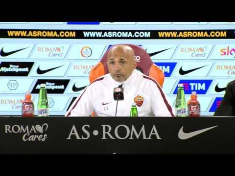 """La conferenza di Spalletti: """"Con Totti è tutto risolto. Rimango alla Roma anche l'anno prossimo"""""""