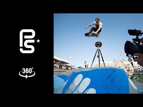360 Virtual Reality - Vans Pro Skate Park Series Practice