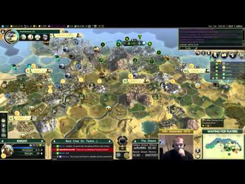Civilization 5 Multiplayer 150: Assyria [3/4] ( BNW 8 Player Free For All) Gameplay/Commentary