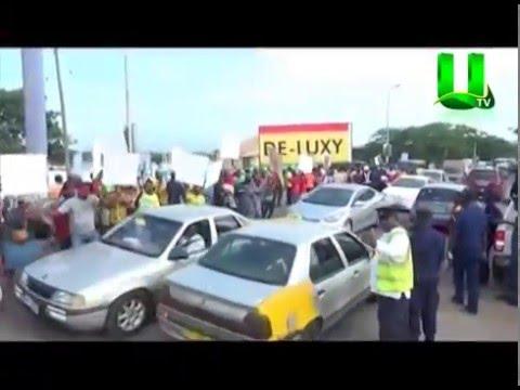 Takoradi Transport Operators Embark On Demo Over Unapproved Loading Points